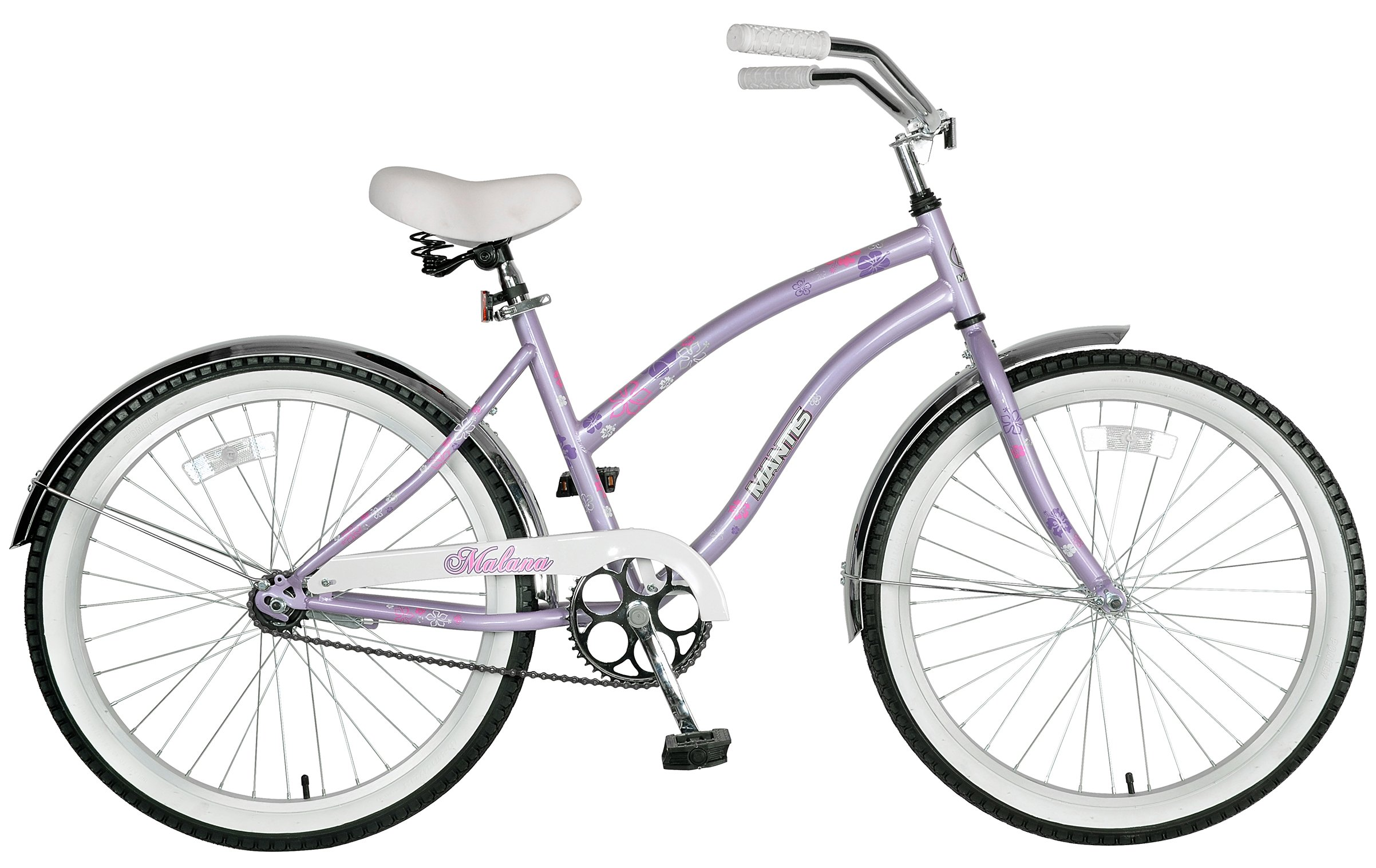 "Mantis Malana 24"" Ladies Beach Cruiser Bicycle"