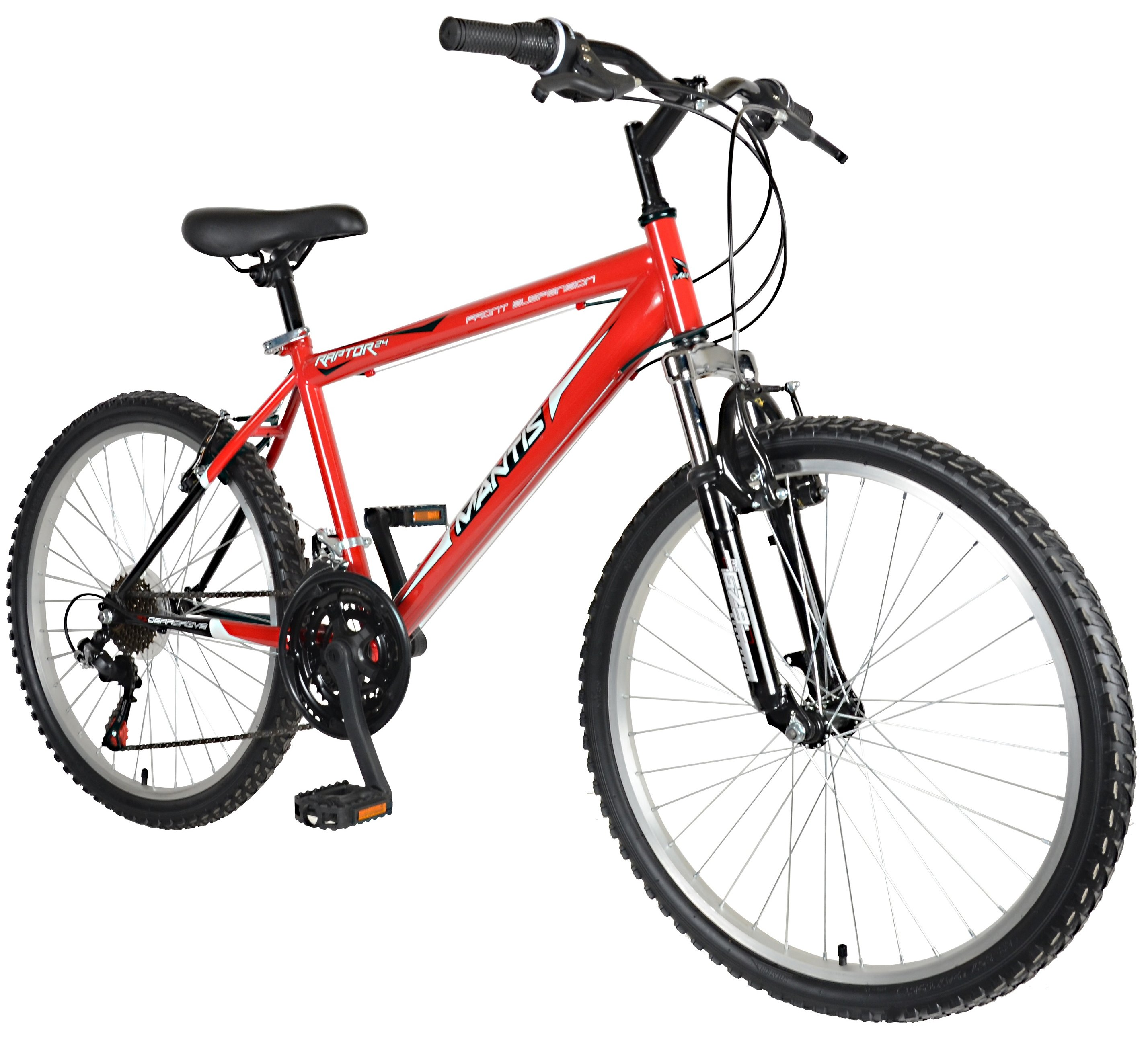 "Mantis Raptor Boys 24"" Hardtail MTB 21 Speed Bicycle"