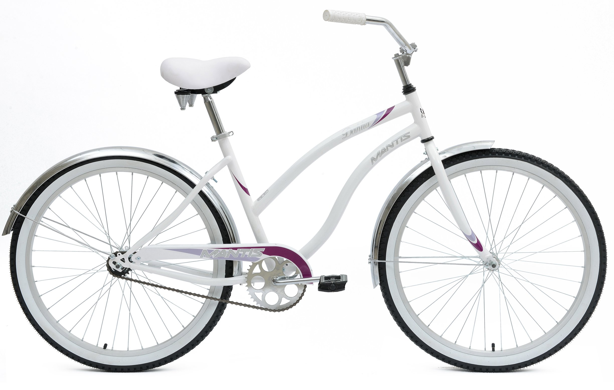 Mantis Dahlia Ladies Beach Cruiser Bicycle