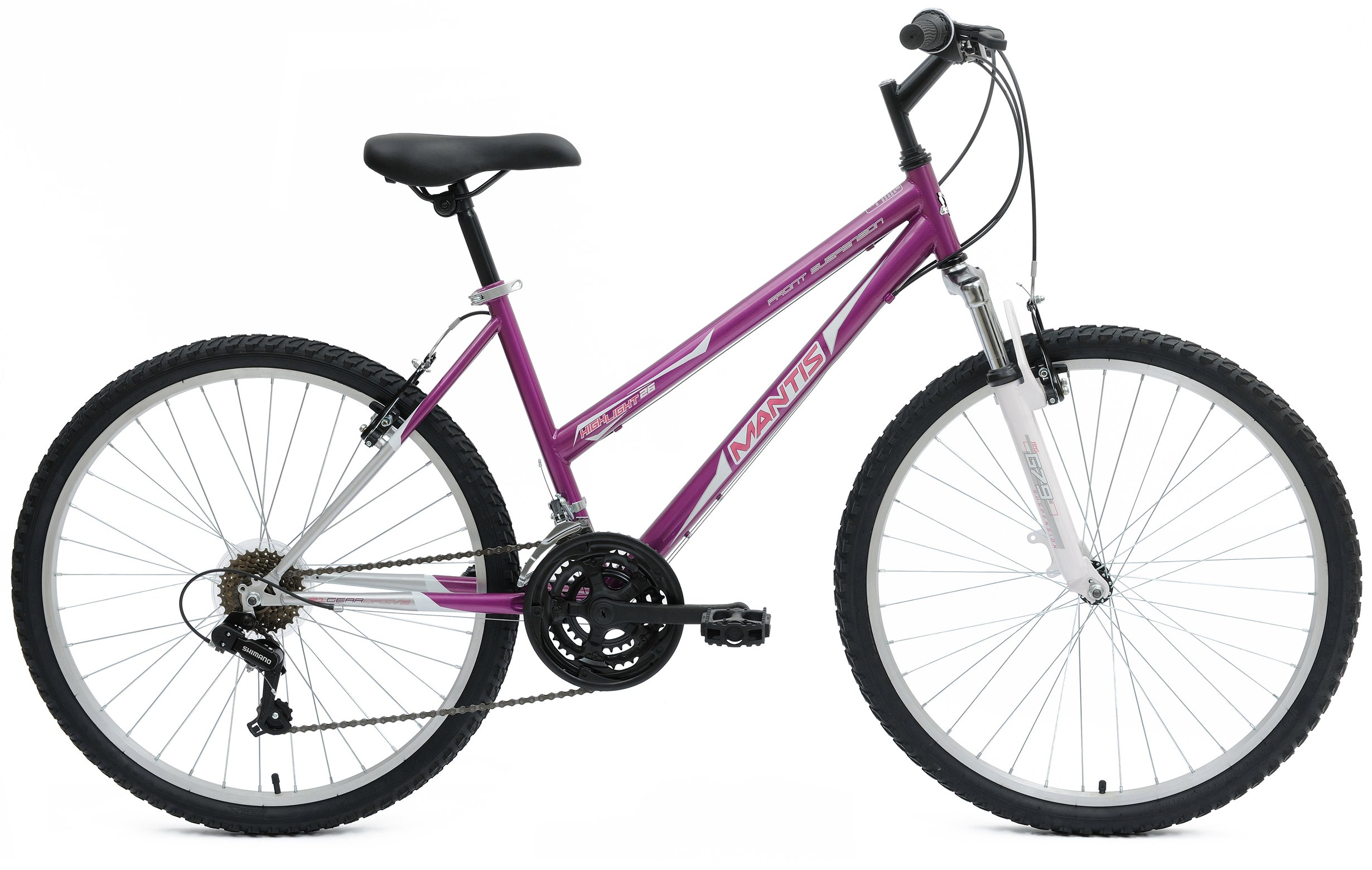 Mantis Womens Highlight 26 L MTB Hardtail 21 Speed Bicycle