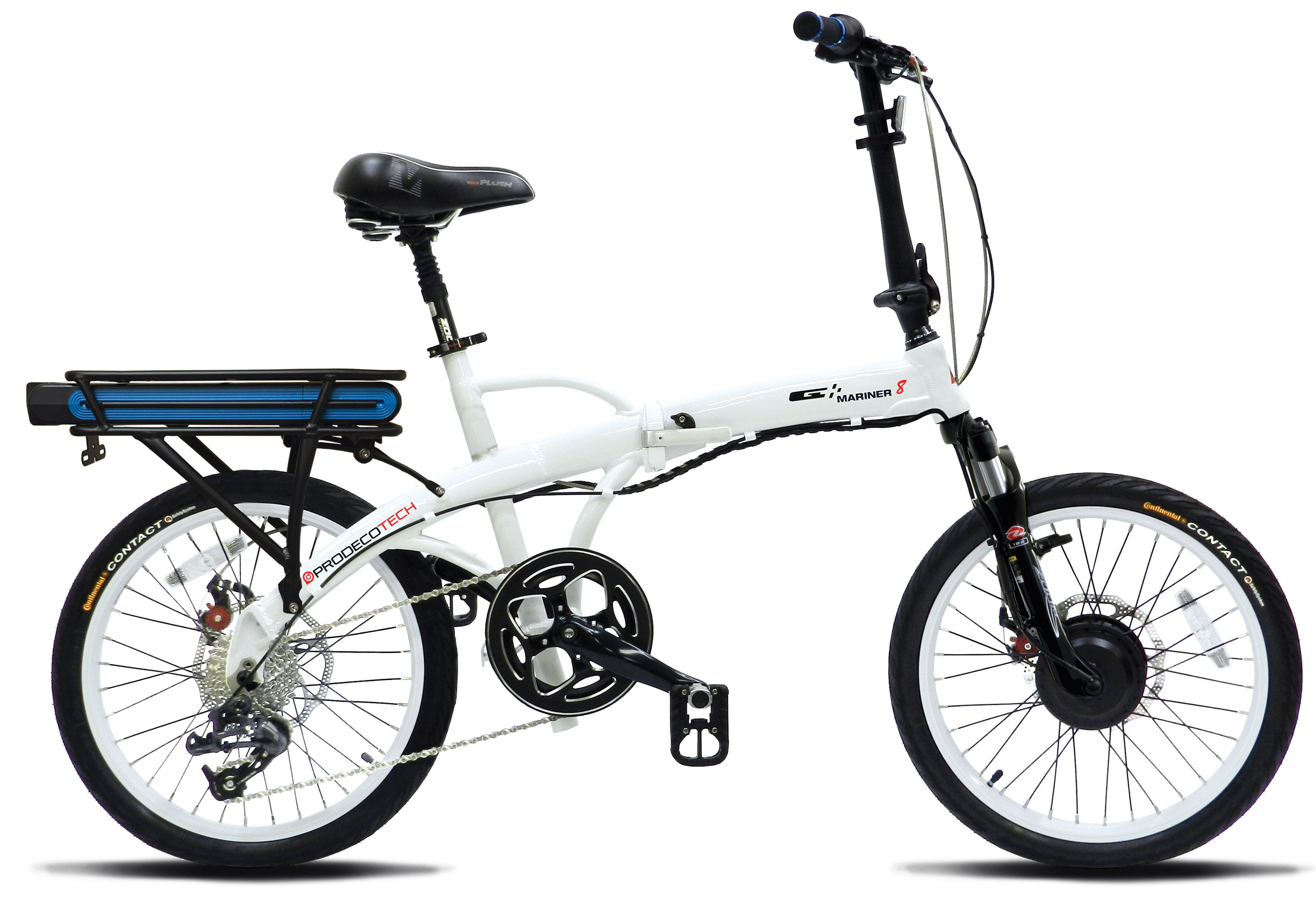 Prodeco Mariner 8 Speed V5 36V 300W Compact Folding Electric Bike
