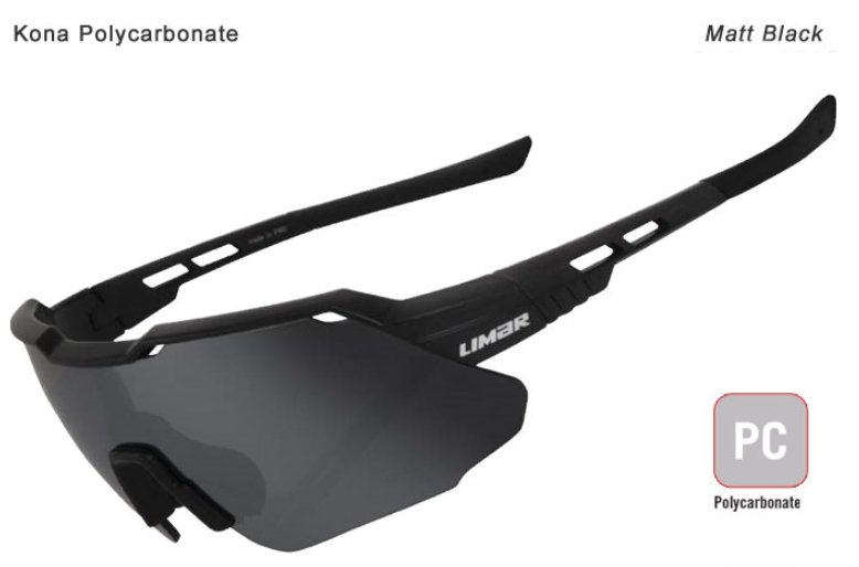 Limar F60 Polycarbonate Cycling Sunglasses Matt Black