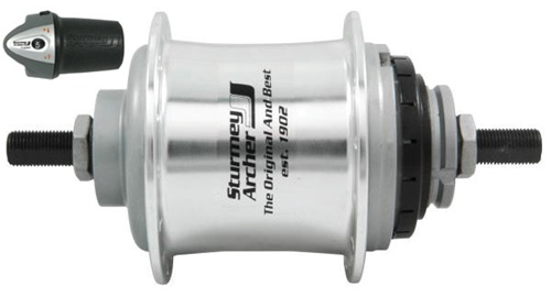 Sturmey Archer X RF5 36h 5 Speed Hub W/Twist Shift
