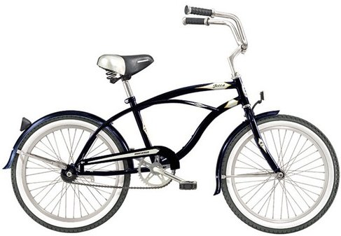 "Micargi Jetta Men's 20"" Beach Cruiser Bicycle"