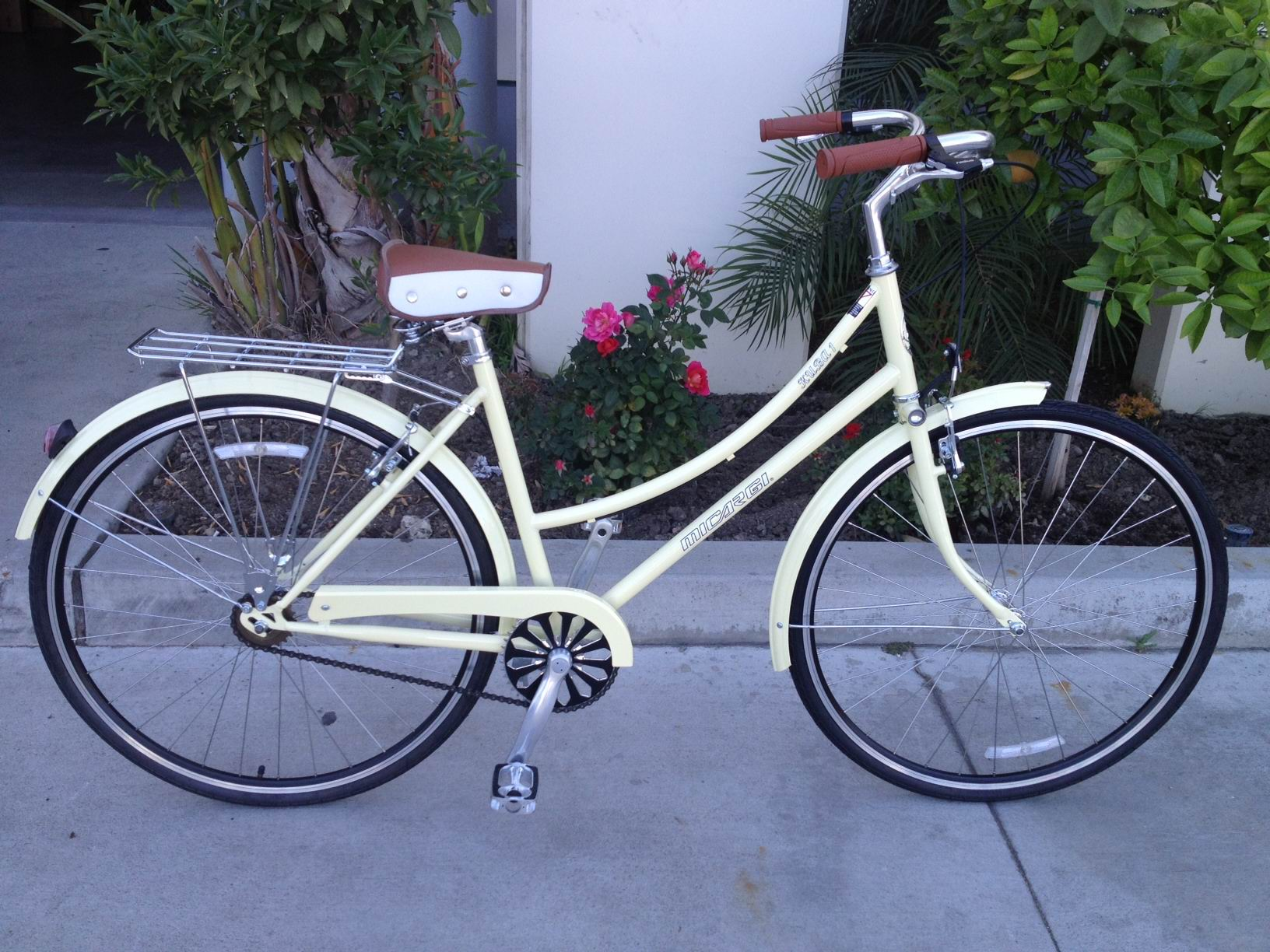 Micargi Kuba Steel Single Speed Women's City Bike 700C