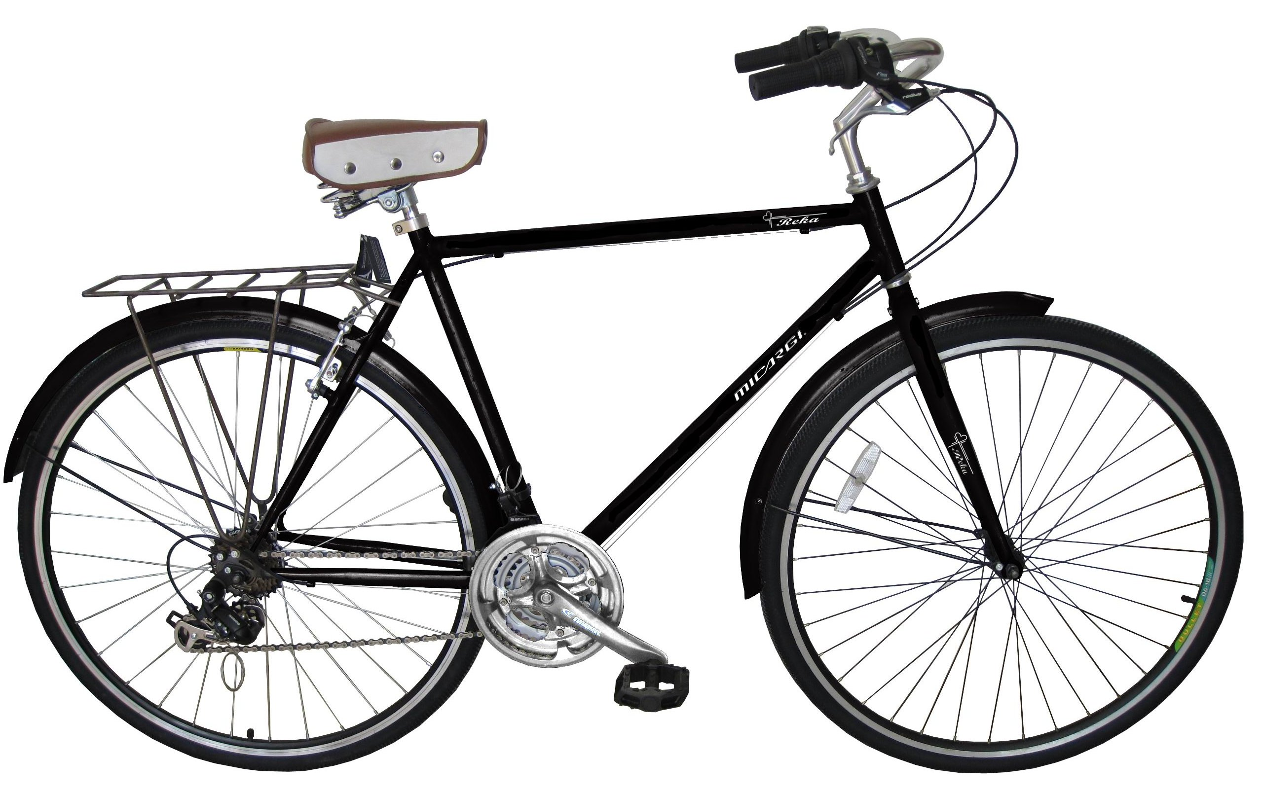 Micargi Kuba Steel 21 Speed Mens City Bike 700C