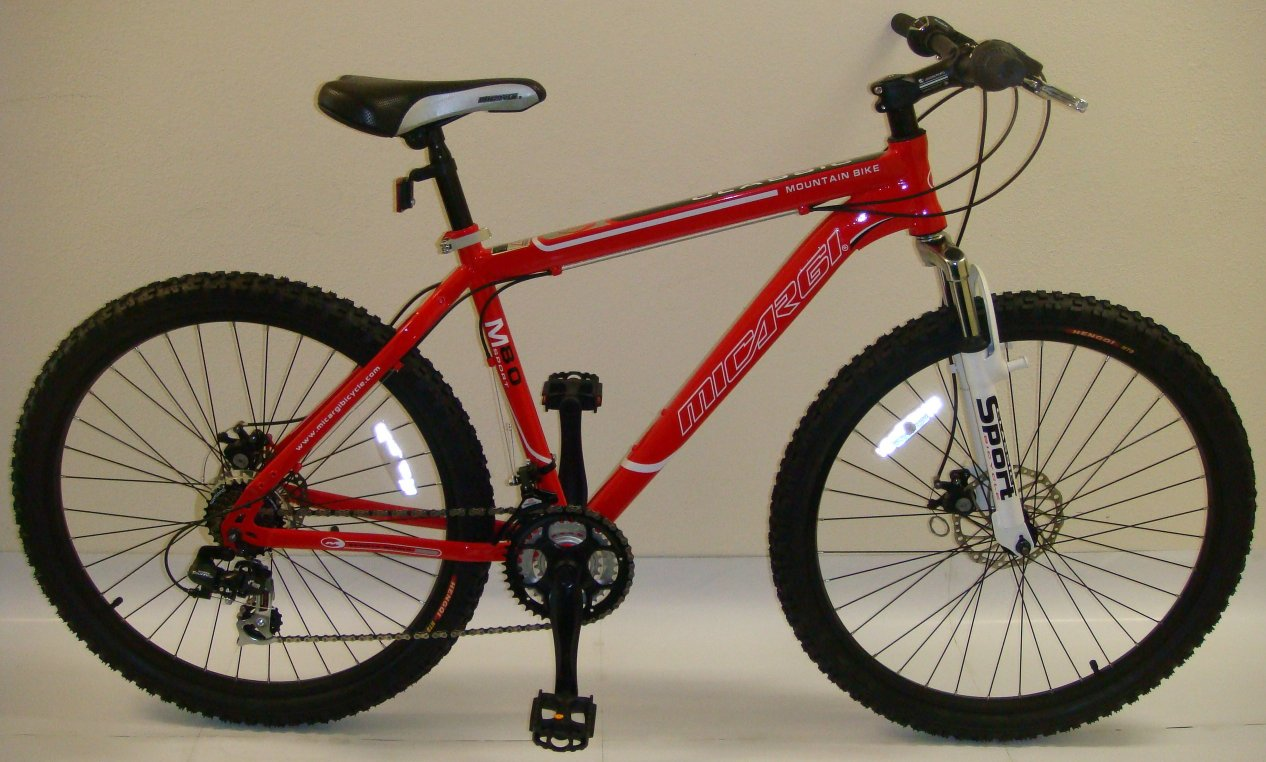 Micargi M80 Mens 21 Speed Hardtail Front Suspension Mountain Bike