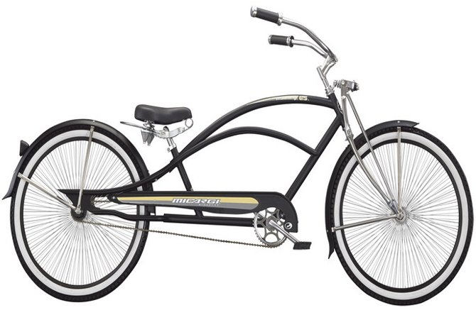Micargi Mustang GTS Stretch Cruiser Bicycle