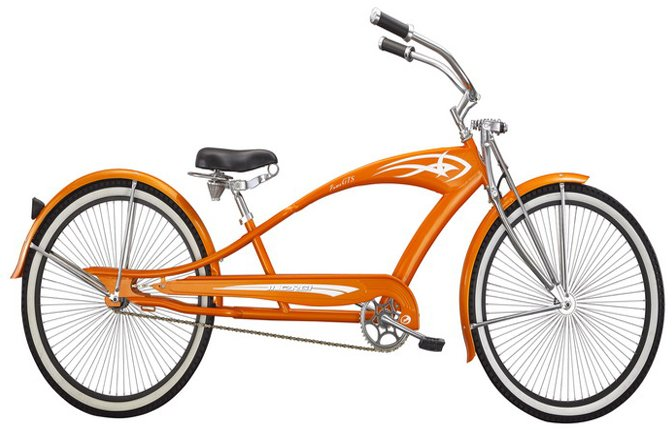 Micargi Puma GTS Stretch Cruiser Bicycle