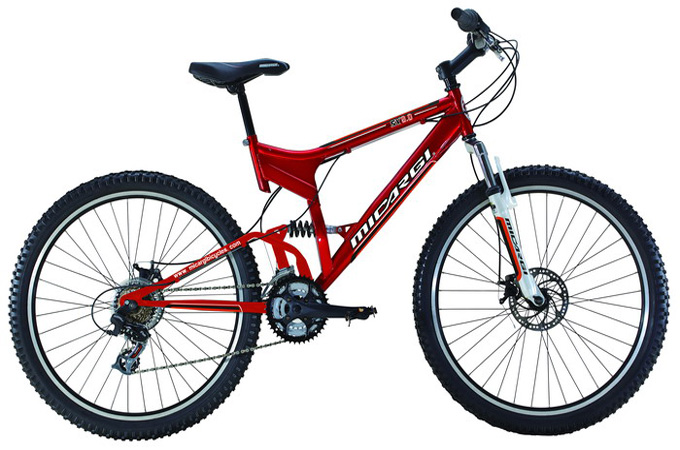 Micargi SX90 Mens 21 Speed Suspension Mountain Bike