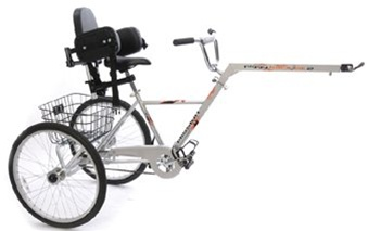 Mission Piggyback MK11 Folding Adult Special Needs Bike Trailer