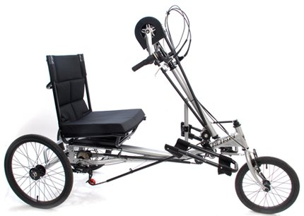 Mission Cycles Semi Recumbent 7 Speed Handcycle