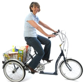 Mission SOLO Low Step Adult Tricycle