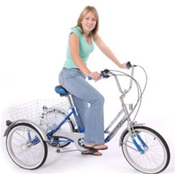 "Mission Trilogy 20"" 6 Speed Adjustable Special Needs Adult Tricycle"