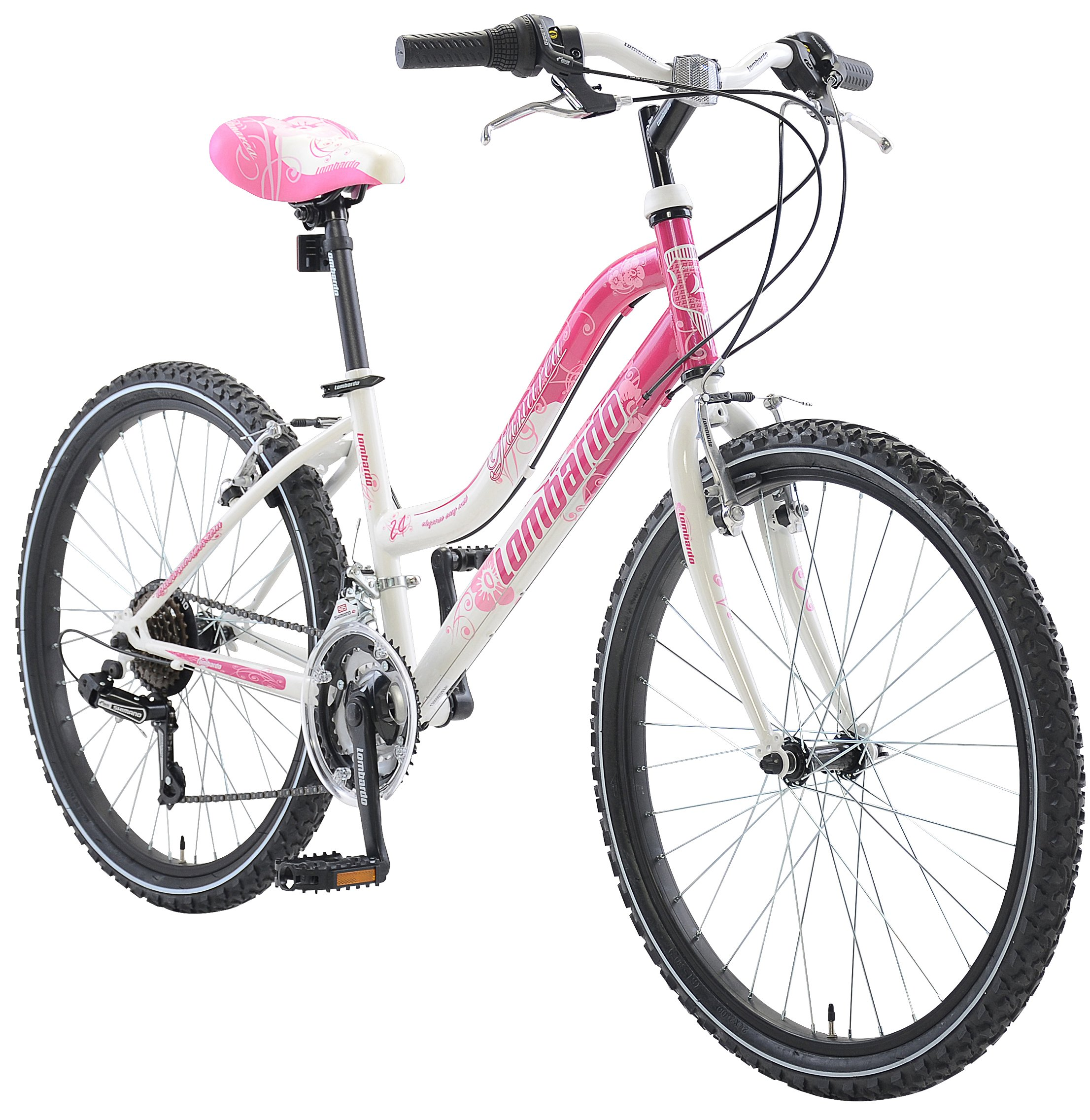 Lombardo Panarea Womans 24 18 Speed Mountain Bike Made in Italy