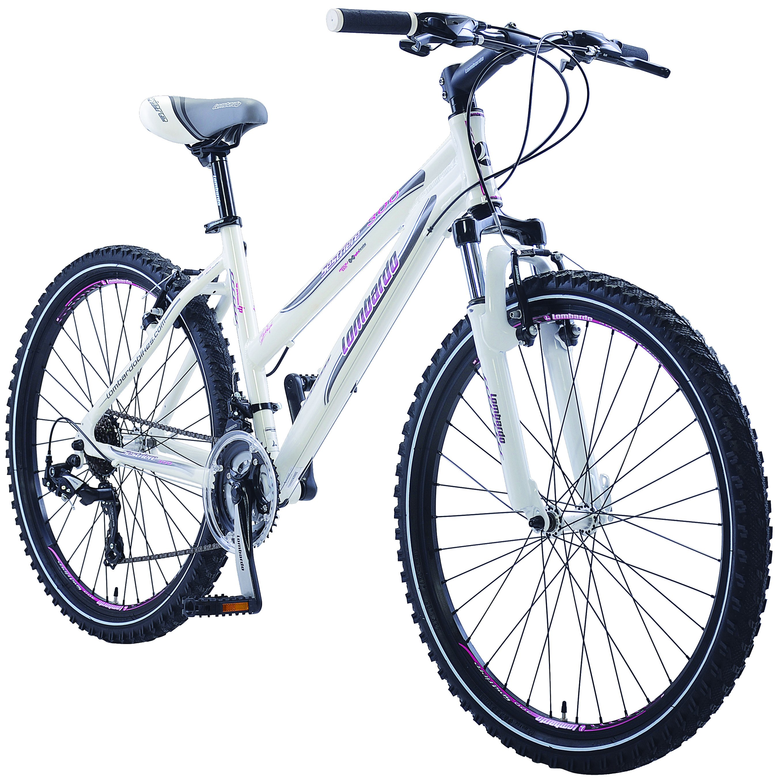 "Lombardo Sestriere 300L Woman's 26"" 21 Speed Mountain Bike Handmade"