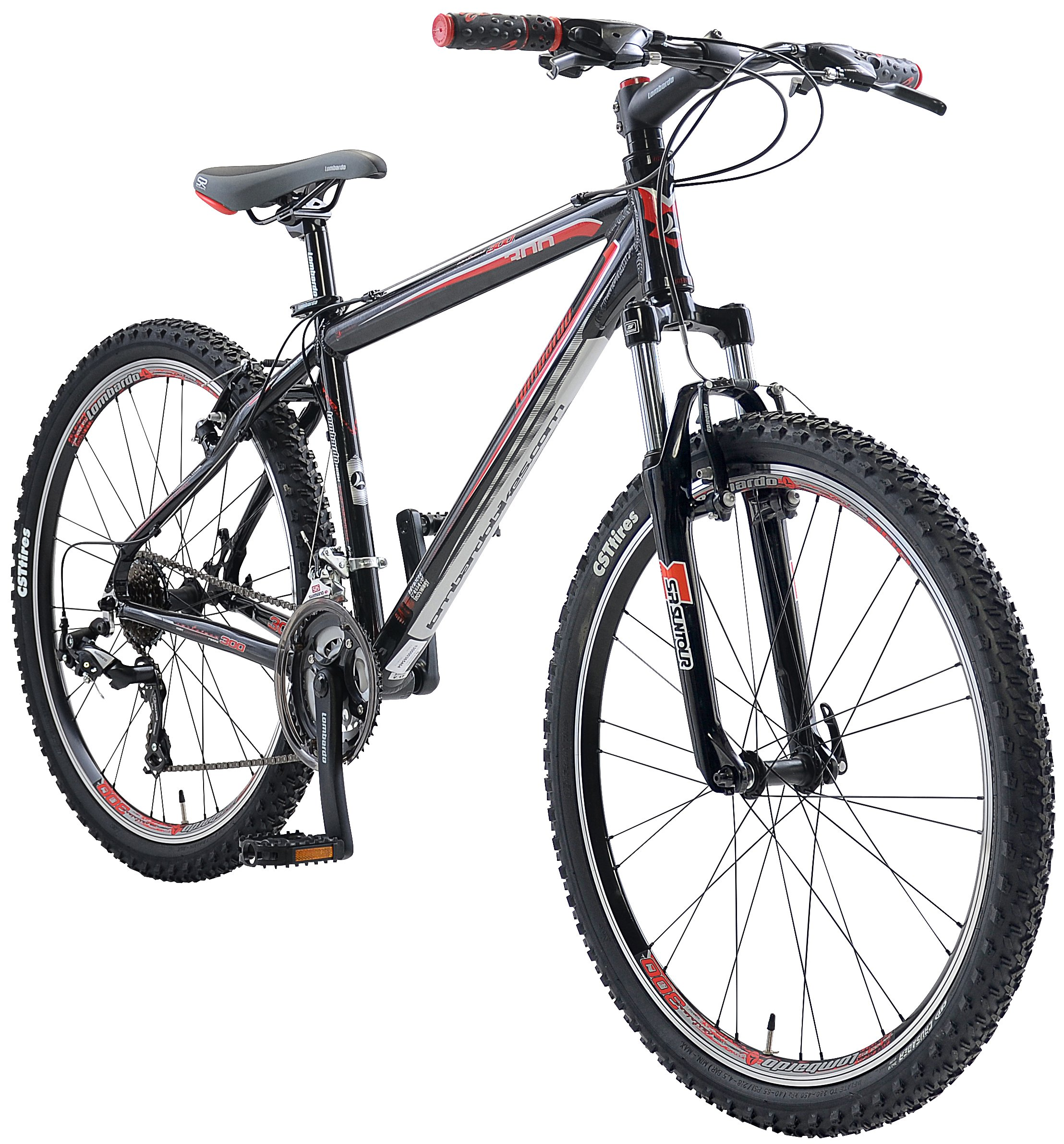 "Lombardo Sestriere 300M Men's 26"" 21 Speed Mountain Bike Handmade"