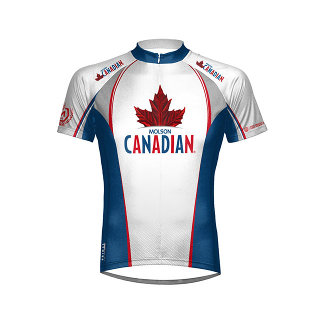 Primal Wear Molson Canadian Beer Men's Cycling Jersey Small