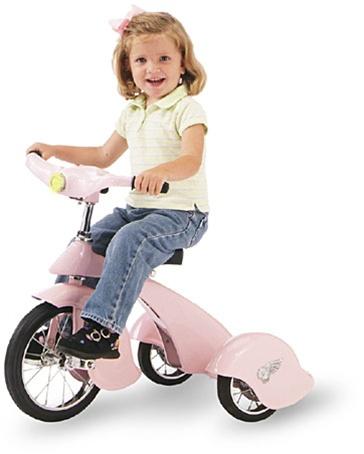 Pink Pegasus Retro Trike
