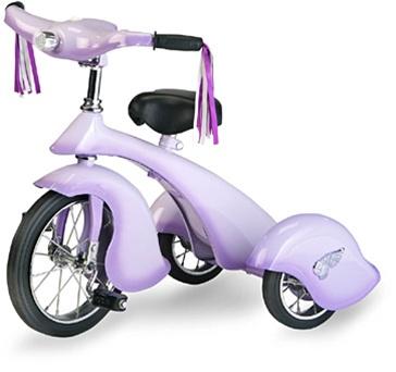 Lavender Retro Trike