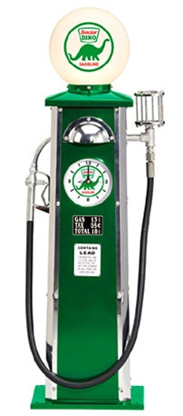 Sinclair Old time Gas Pump by Morgan Cycle