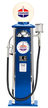 Standard Oil Old time Gas Pump by Morgan Cycle