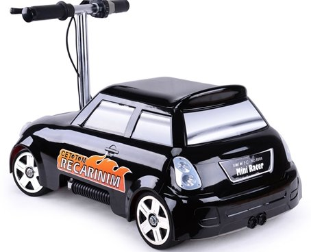 MotoTec 24v Mini Racer V2 Black