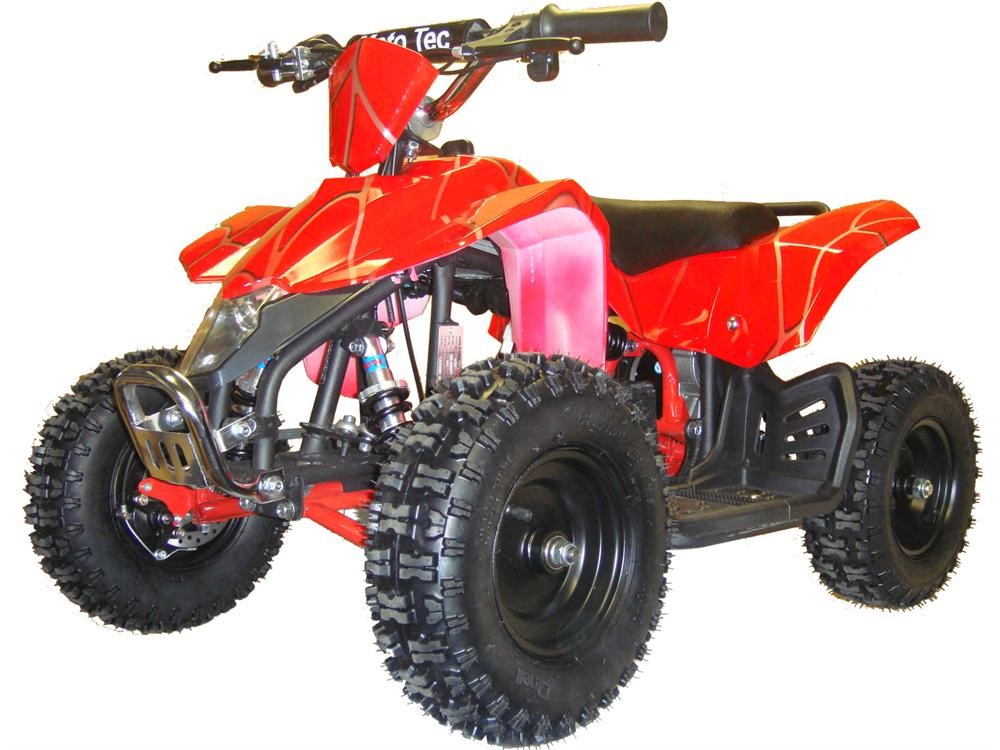 MotoTec 24v Mini Quad v3 Red