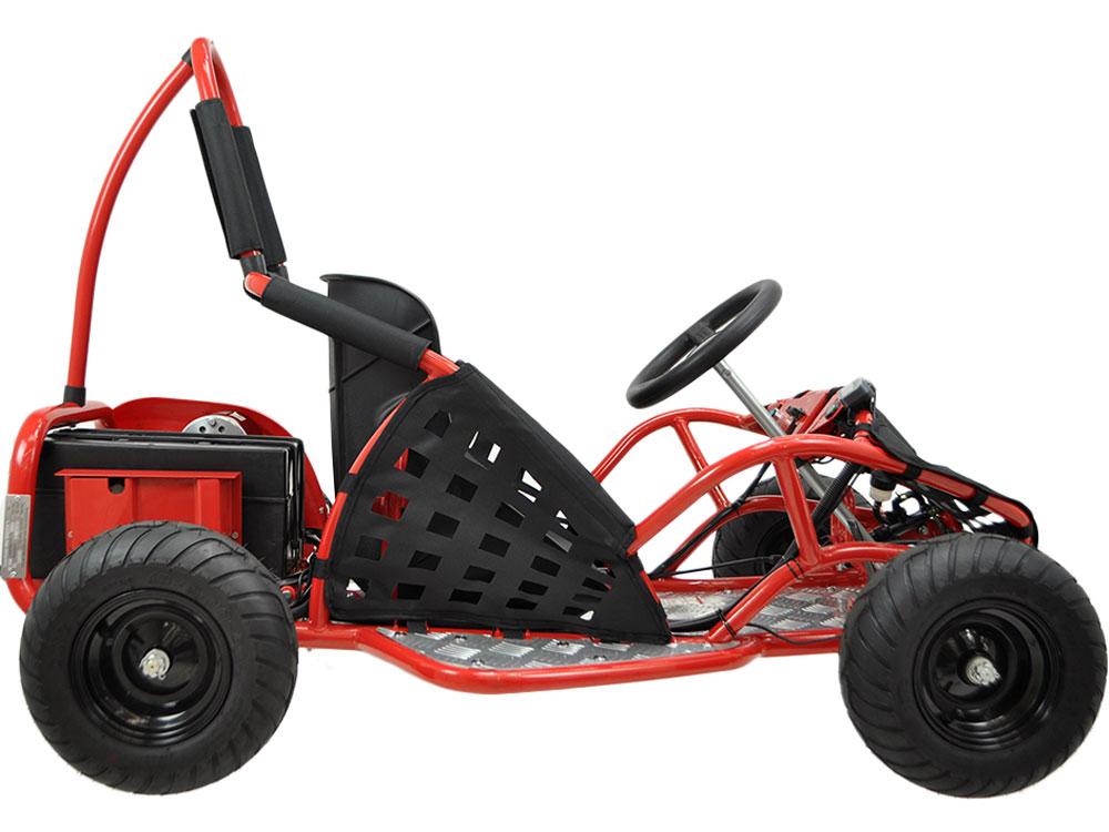 MotoTec Off Road Go Kart 48v 1000W - Red