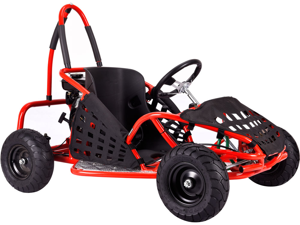 mototec off road go kart 79cc red. Black Bedroom Furniture Sets. Home Design Ideas