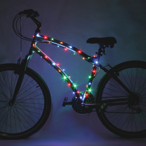 Cosmic Brightz Bicycle Lights Multicolored