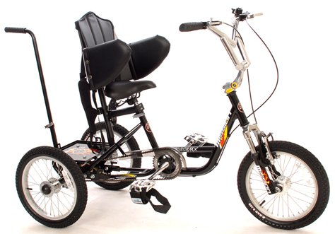 "Mission BMX MX Special Needs 20"" Front Suspension Trike Teen/Adult"