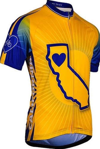 Its In My Heart Men's California State Jersey