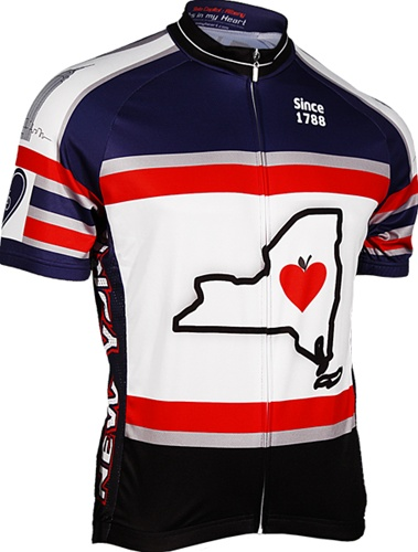 Its In My Heart Mens New York State Jersey