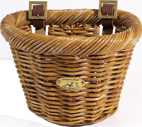 Nantucket Bike Baskets Cisco Collection D Shape (For A Childs Bike)
