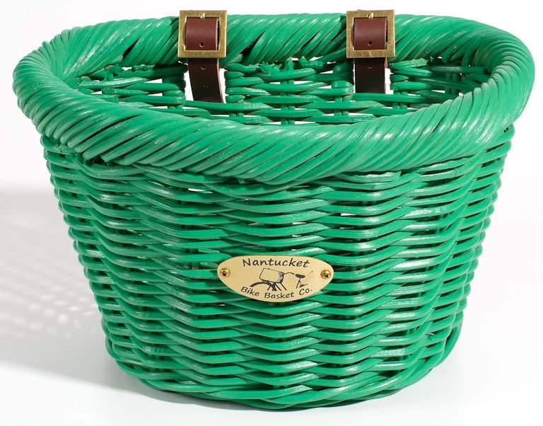 Nantucket Limited Edition Green Cruiser Bike Basket