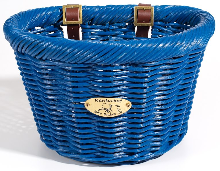Nantucket Limited Edition Blue Cruiser Bike Basket