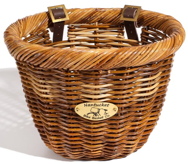 Nantucket Bike Baskets Cisco Rattan Collection Oval