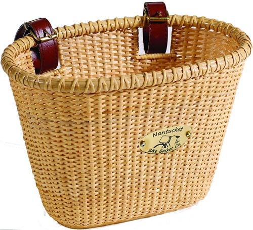 Nantucket Bike Baskets Lightship Rattan Collection (FOR A CHILDS BIKE)