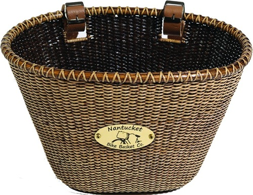 Nantucket Bike Baskets Lightship Rattan Collection