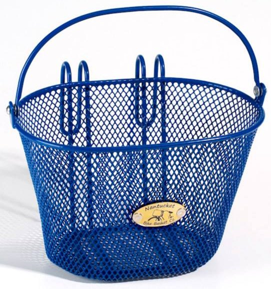 Nantucket Bike Baskets Child Size Surfside Collection Blue