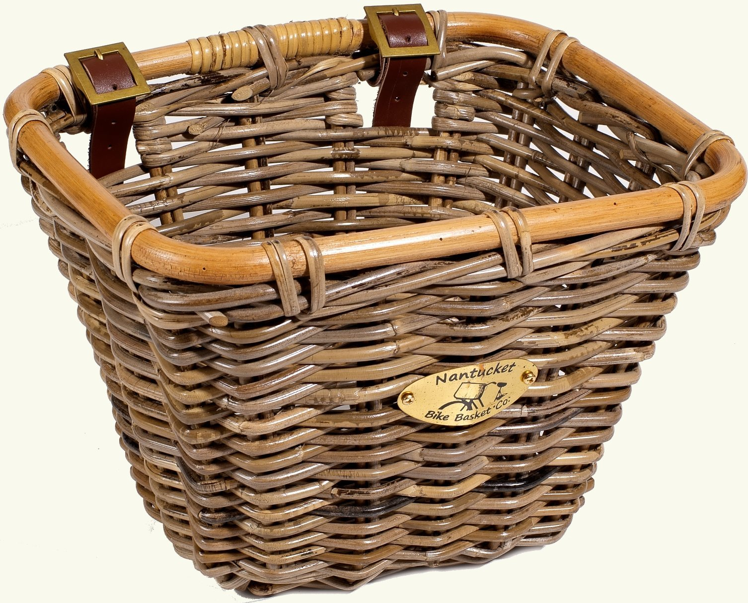 Nantucket Bike Baskets Tuckernuck Rattan Collection Rectangle