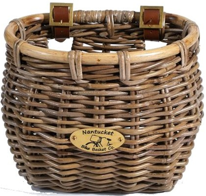 Nantucket Bike Baskets Tuckernuck Rattan Collection Classic Tapered