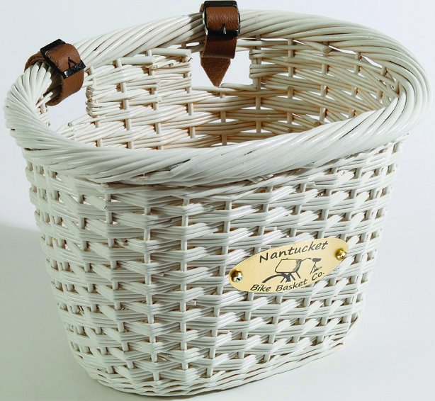 Nantucket Cliff Road Collection Bike Basket