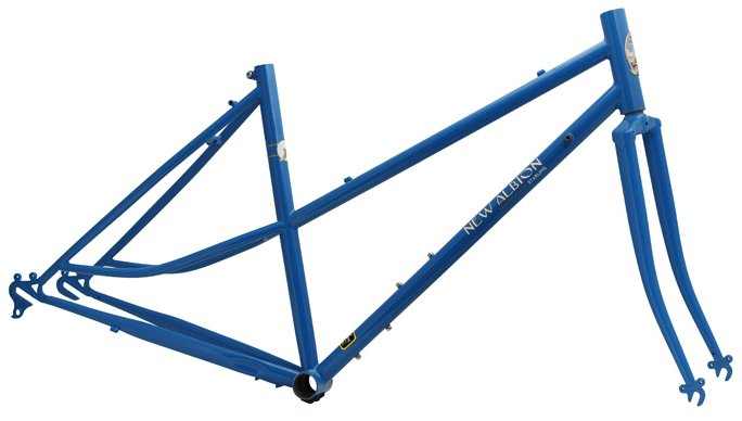 New Albion Sterling Mixte Road Frame and Fork