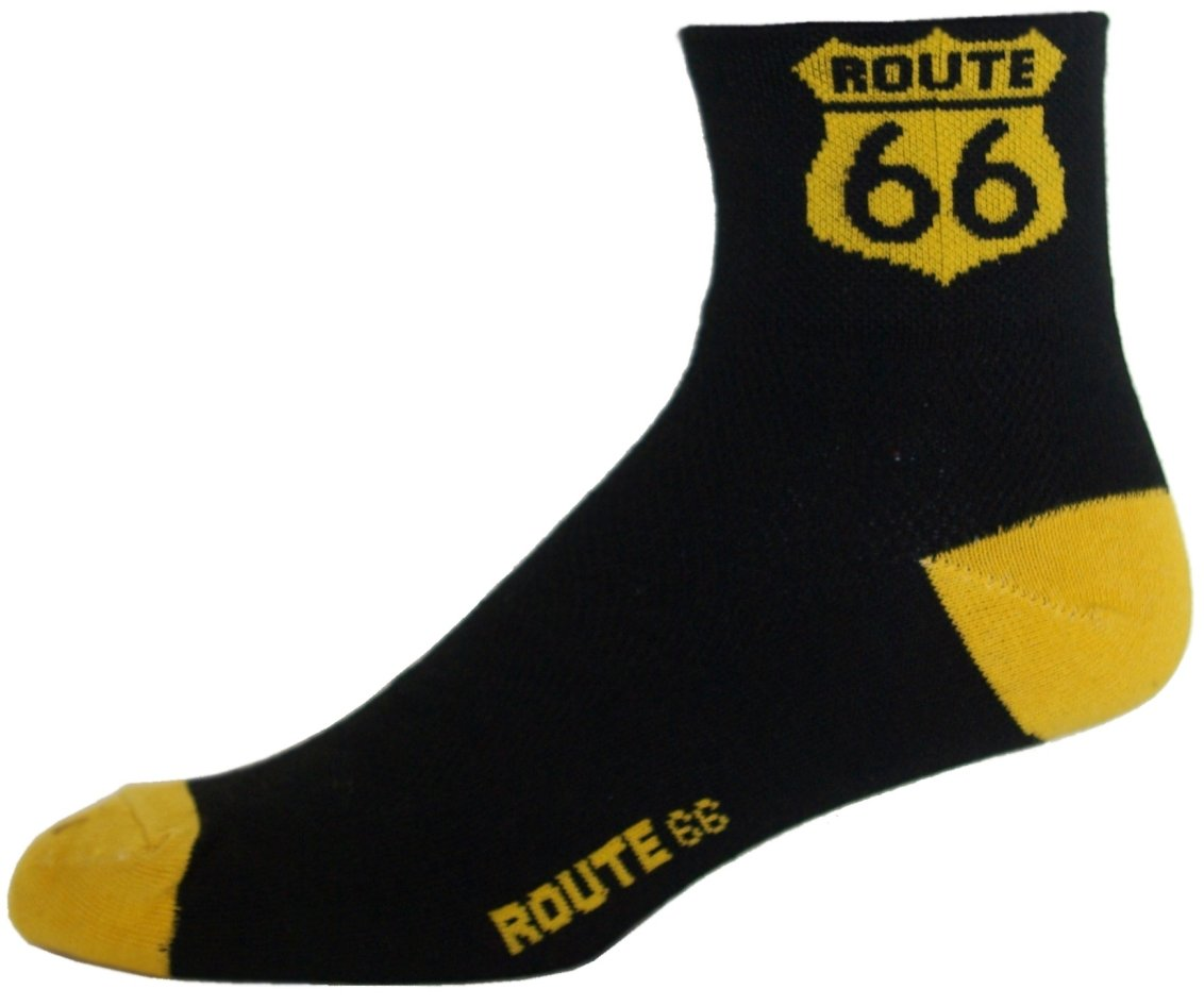 NLZ Route 66 Cycling Socks