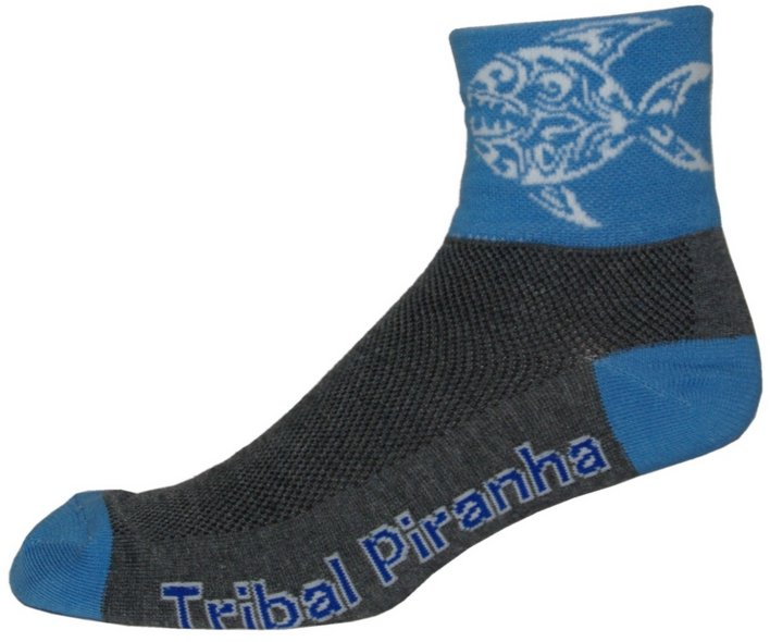 NLZ Piranha Tribal Cycling Socks
