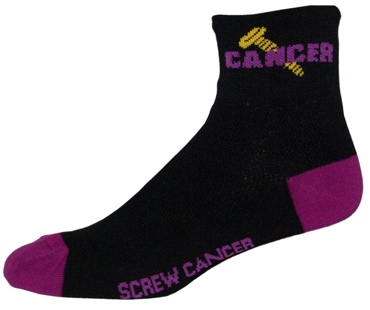 NLZ Screw Cancer Cycling Socks