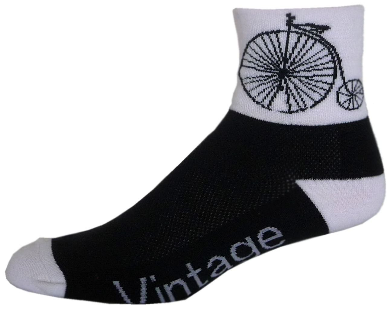 NLZ Vintage Bike Cycling Socks