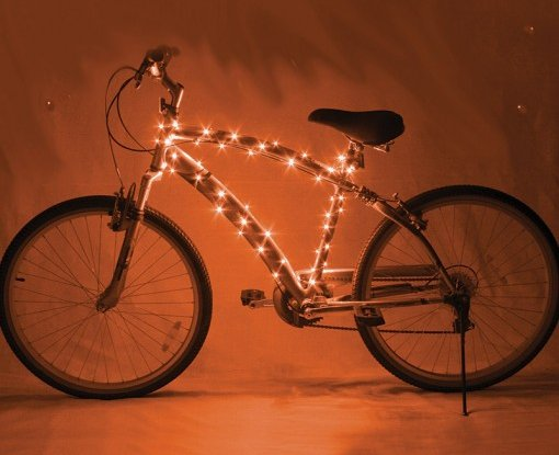 Cosmic Brightz Bicycle Lights Orange